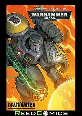 WARHAMMER 40000 DEATHWATCH GRAPHIC NOVEL New Paperback Collects 4 Part Series