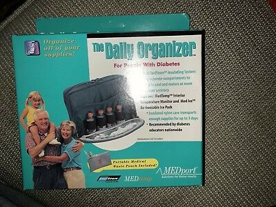 Daily Organizer For People With Diabetes New