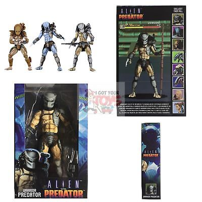 "WARRIOR PREDATOR Neca ALIEN vs PREDATOR 1994 ARCADE 2019 7"" Inch Action FIGURE"