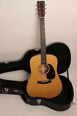 Martin Guitar D-18 New Series Massive Mahogany Body: Demonstration Instrument