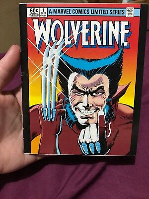 Wolverine Limited Series #1 (Marvel, Okay Condition)