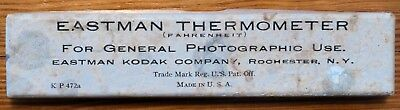 Vintage Eastman Kodak Thermometer ~ Working, with box