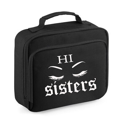 cad381508cc1 James Charles Inspired Black Lunch Bag Box Hi Sisters Make Up Artist  Youtuber