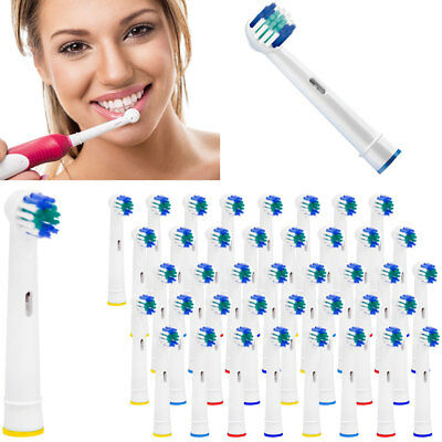 Oral-B Compatible 3D White Electric Toothbrush Replacement Tooth Brush Head UK**