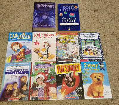 LOT Popular Characters Series Chapter Books Harry Potter Artemis Fowl NEW