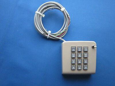 Western Electric 50C Dial Mounting With Touchtone Dial