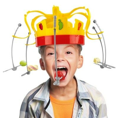 King Crown Feast Musical Munch Game Eat The Spinning Snacks Before Music Stops*