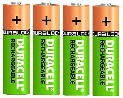4 x ENERGIZER UNIVERSAL AA 1300 mAh Rechargeable Batteries NiMH PRE-CHARGED NEW