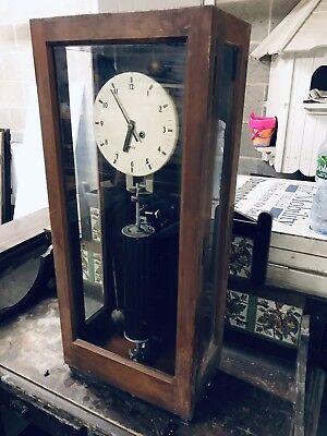 Gents Of Leicester Antique Watchmans Clock Tell/Tale 1938