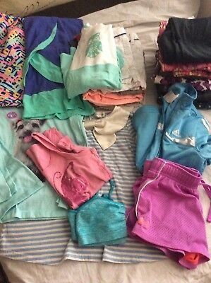 Huge LOT 20 GIRLS CLOTHING Old Navy Reebok Adidas Children's Place