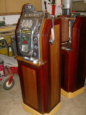 Antique Slot machine Console Watling Jennings Mills Pace Coin Op Vending Penny