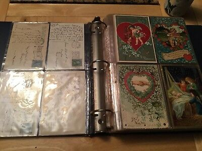 ANTIQUE POSTCARD 150 LOT...EARLY 1900's...MIXED SUBJECT...XCELLENT CONDITION...