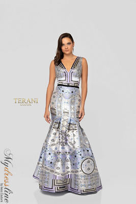 Terani Couture 1811m6551 Evening Dress Lowest Price Guaranteed New
