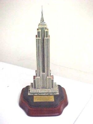 Lighted Empire State Building Danbury Mint