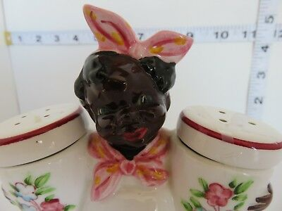 Vintage Black Americana Rare Mammy Salt And Pepper Shakers Very Nice