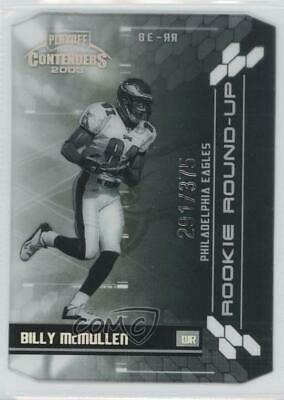 2003 Playoff Contenders Rookie Round-Up/375 #RR-37 Teyo Johnson Oakland Raiders