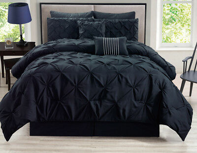 8-Piece-Rochelle-Pinched-Pleat-Comforter-Set