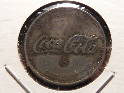 Old Coca Cola with Eagle   Token