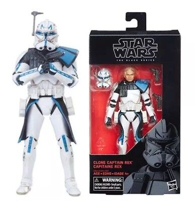 """Star Wars the Black Series Captain Rex 6"""" Action Figure #59  In Hand New"""
