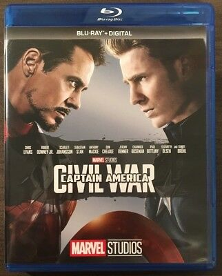 CAPTAIN AMERICA - CIVIL WAR (Blu-Ray) - Marvel Cinematic Universe