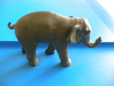 "ELEPHANT trunk up Good Luck   ""Ellie""  lead figure toy ?  britains B50"
