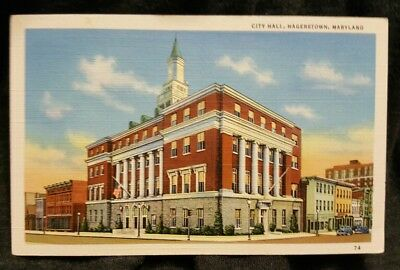 City Hall, Hagerstown, MD