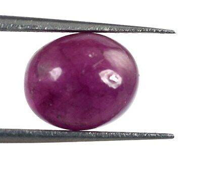6.15 Ct Burma Red Ruby Gemstone 100% Natural Oval Cabochon AGSL Certified D7831