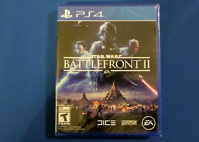 NEW Star Wars Battlefront 2 II PS4 - Sony PlayStation 4