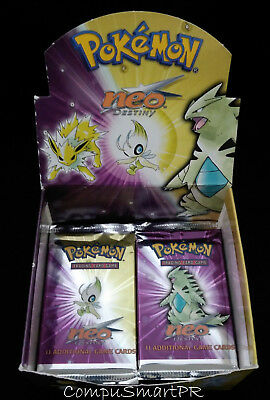 Pokemon Neo Destiny Booster Pack Booster Pack Factory Sealed (One Random Pack)