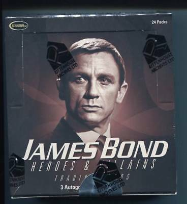 James Bond Heroes and Villains  Factory Sealed Box