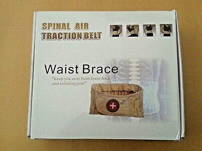 Spinal Decompression/Traction Belt, For The Control Of Pain In The Lumbar Region