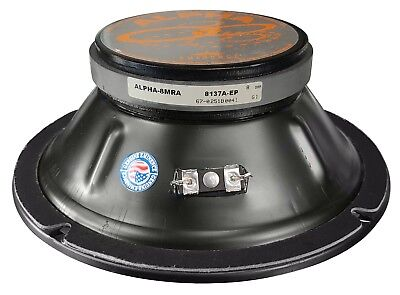 "Eminence Alpha-8MRA American Standard Series 8"" 125-Watt Replacement PA Speaker"