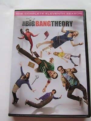 The Big Bang Theory: The Complete Eleventh Season (DVD, 2018)
