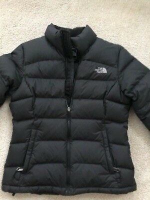 0b3f89faea0 The North Face Women Size S/P Small 700 Goose Down Puffer Jacket Black