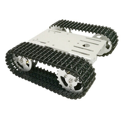 Obstacle Avoidance Tank Chassis Smart Robot tank Car Tracking Kit with Motor