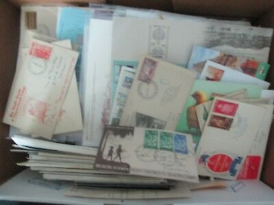 ESTATE: World Covers and Who knows what in box unchecked as received    (b40)
