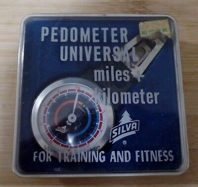 Vintage Mechanical PRECISE K & R Silva Pedometer Box and Instructions Included