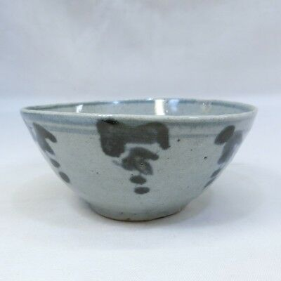 B490: Southeast Asian bowl of old porcelain of SUNKOROKU from Thailand 1