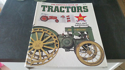 the gatefold  book of tractors