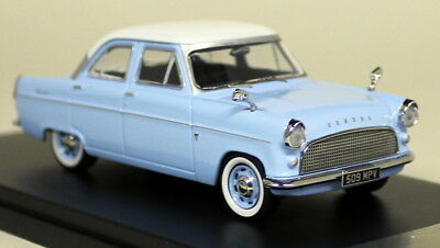 PRX Models 1/43 Scale - PDR551 Ford Consul Mk2 1959 Blue White Diecast Model Car
