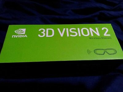 NVIDIA 3D Vision 2 Wireless Glasses ....gaming pc computer laptop