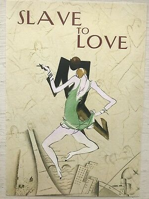 Brian Ferry Personally Signed Slave To Love Postcard With Perspex Frame