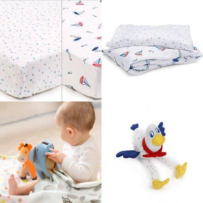 Cot Bed Toddler Bed Super Dry 2 Pack Of Breathable Sheets 140cms X 70cms By The