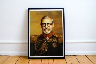 Jeff Goldblum Poster, Classical Painting, Regal art, General,