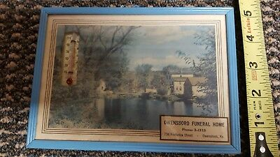 Owensboro Funeral Home Advertising Thermometer - Owensboro, Kentucky