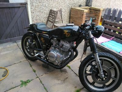 Yamaha xs400 cafe racer motorcycle (bargain price)