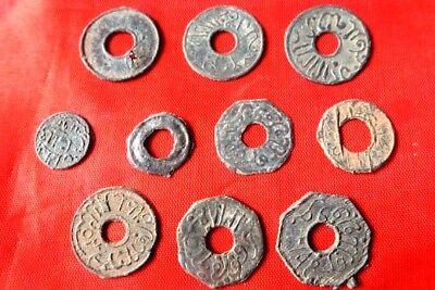 INDONESIA COLONIAL PALEMBANG SULTAN MAHMUD MIX 10PCS nice coins (10