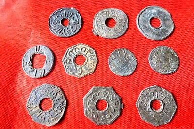 INDONESIA COLONIAL PALEMBANG SULTAN MAHMUD MIX 10PCS nice coins (12
