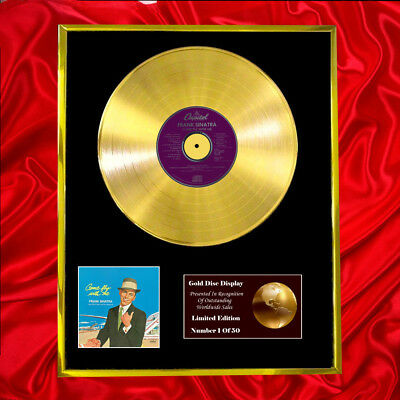 Frank Sinatra Come Fly With Me Cd  Gold Disc Vinyl Lp