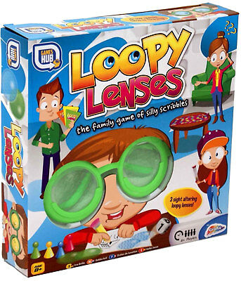 Loopy Lenses Silly Scribbles Family Christmas Game Kids Adults Lens Lense UK NEW